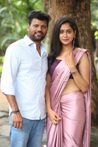 Naren Vanaparthi, Dipali Sharma @ Ooriki Uttarana Movie Teaser Launch Stills