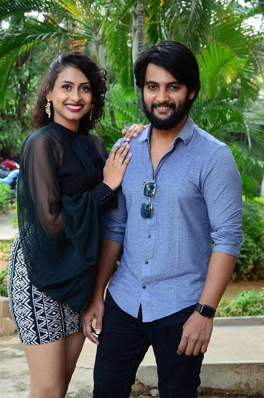 Nitya Naresh, Aadi @ Operation Gold Fish Movie Trailer Launch Photos