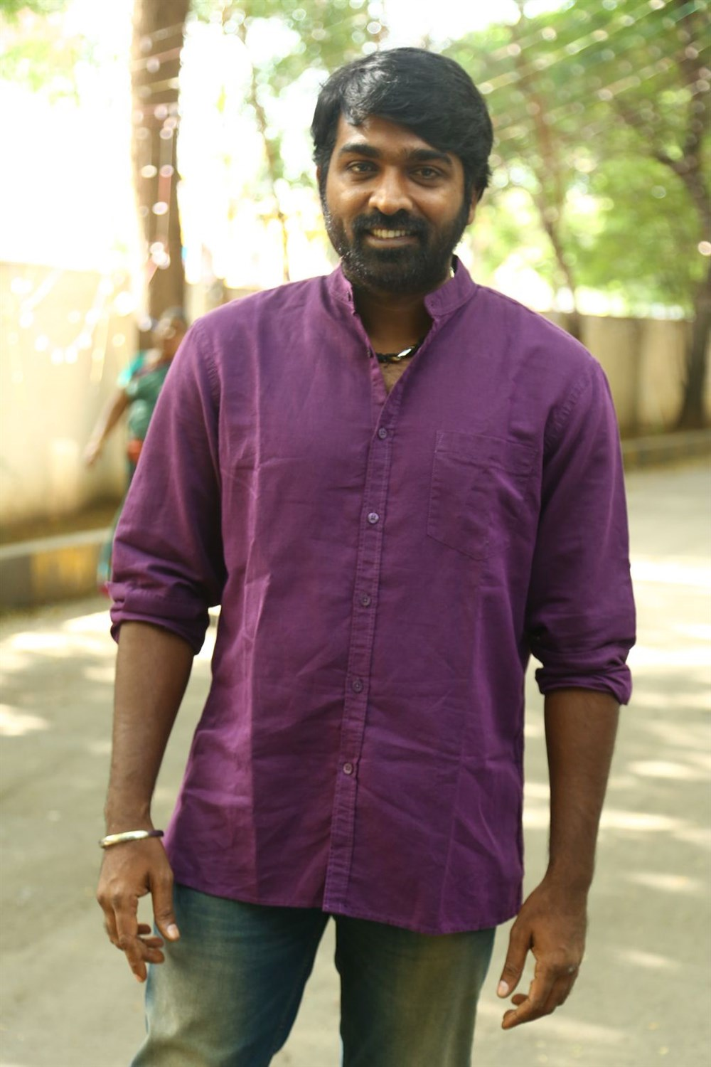Actor Vijay Sethupathi @ Orange Mittai Movie Press Meet Stills