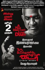 Velu Prabakaran, Swathi Shanmugam in Oru Iyakkunarin Kadhal Diary Movie Release Posters