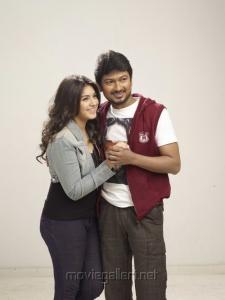 Udhayanidhi Stalin, Hansika Motwani in OKOK Tamil Movie