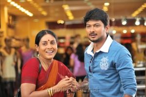 Udhayanidhi, Saranya @ Oru Kal Oru Kannadi Movie Stills