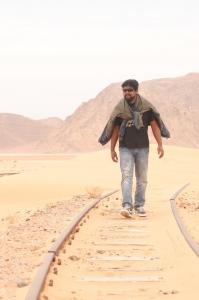Director M.Rajesh at OKOK Shooting Spot