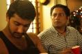 Arulnidhi, Bagavathi Perumal in Oru Kanniyum Moonu Kalavanigalum Movie Stills