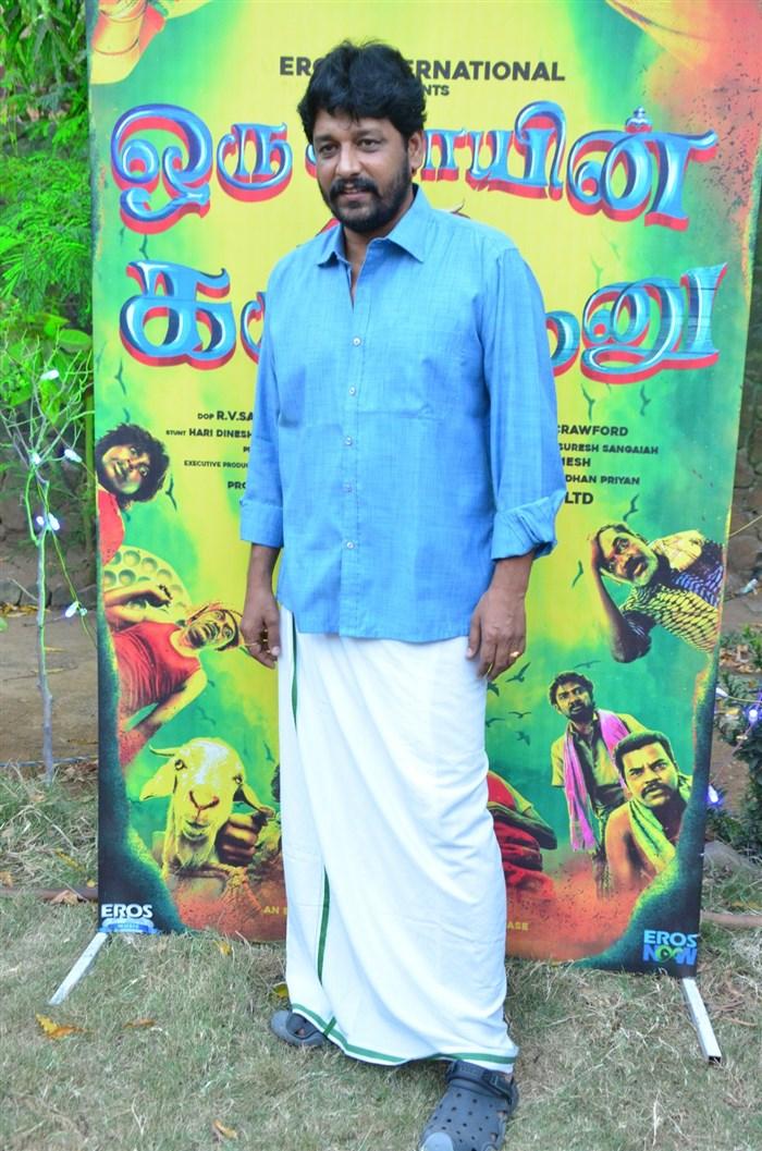 Actor Vidharth @ Oru Kidayin Karunai Manu Movie Audio Launch Stills