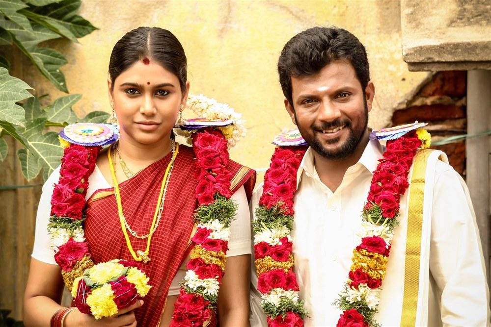 Manisha Yadhav, Master Dinesh in Oru Kuppai Kathai Movie Photos