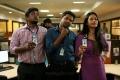 Bala Saravanan, Dinesh, Nivetha Pethuraj in Oru Naal Koothu Movie Stills