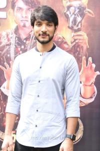 Actor Gautham Karthik @ Oru Nalla Naal Paathu Solren Movie Press Meet Photos