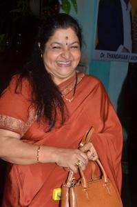 Singer KS Chithra @ Oru Tharam Udhayamagirathu Audio Launch Stills