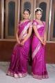 Actress Swathi & Sanya at Oruvar Meethu Iruvar Sainthu Movie Stills