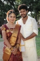 Sanya, Lagubaran in Oruvar Meethu Iruvar Sainthu Movie Stills