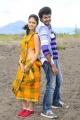 Actress Sanya, Actor Lagubaran in Oruvar Meethu Iruvar Sainthu Movie Stills