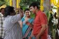 Swathi, Raj Kapoor at Oruvar Meethu Iruvar Sainthu Movie Working Stills