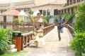 Swathi, Lagubaran in Oruvar Meethu Iruvar Saaindhu Movie Stills