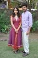 Lagubaran, Sanya at Oruvar Meethu Iruvar Sainthu Press Meet Stills