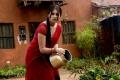 Osthi Richa Gangopadhyay Hot Photos in Red Saree