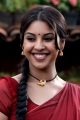 Osthi Actress Richa Gangopadhyay Hot Red Saree Photos