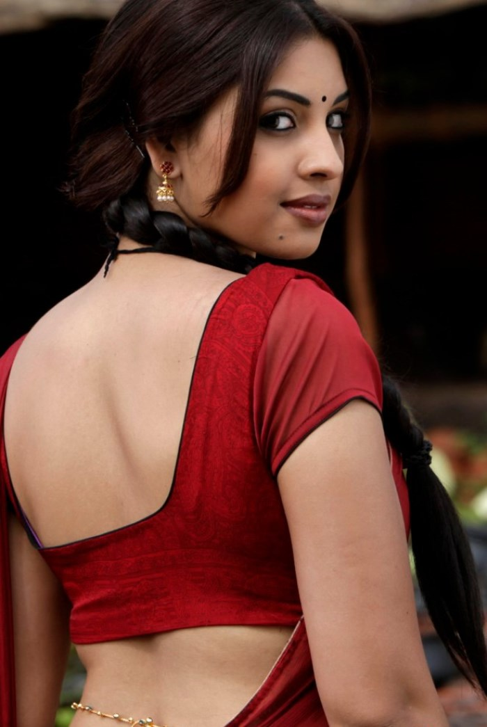 Picture 431012 | Osthi Richa Gangopadhyay Hot Red Saree Photos ...
