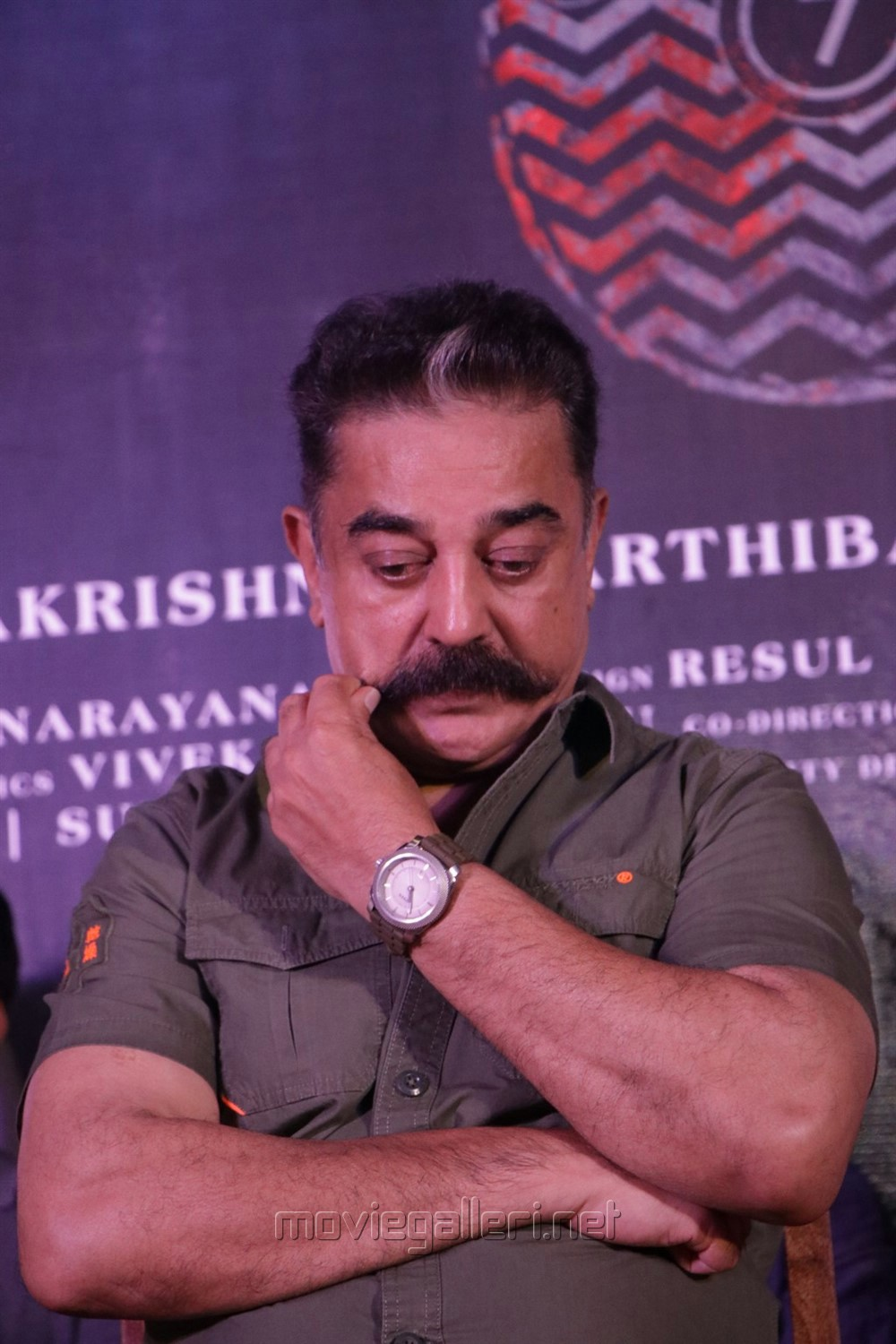 Kamal Hassan @ Oththa Seruppu Movie Audio Launch Stills