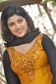 Actress Oviya Helen Hot Photos in Orange Silk Salwar Kameez