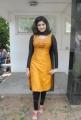 Actress Oviya Helen Hot Photos in Orange Salwar Kameez