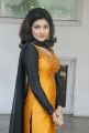 Oviya Helen Nelson Hot Photos in Yellow Orange Salwar Kameez