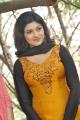 Tamil Actress Oviya Helen Hot Photos in Stong Orange Salwar Kameez