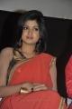 Oviya Red Saree Hot Photos @ Madha Yaanai Koottam Audio Release