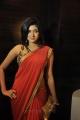Oviya Hot in Red Saree Photos @ Madha Yaanai Koottam Audio Launch