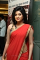 Oviya Hot Photos in Red Saree @ Madha Yaanai Koottam Audio Launch