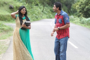 Mithuna, Kandeepan in Oviya Tamil Movie Stills