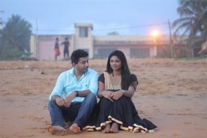Kandeepan, Mithuna Mithu in Oviya Tamil Movie Stills