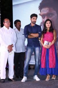 Bharath Margani, Srushti Dange @ Oy Ninne Movie Audio Launch Stills