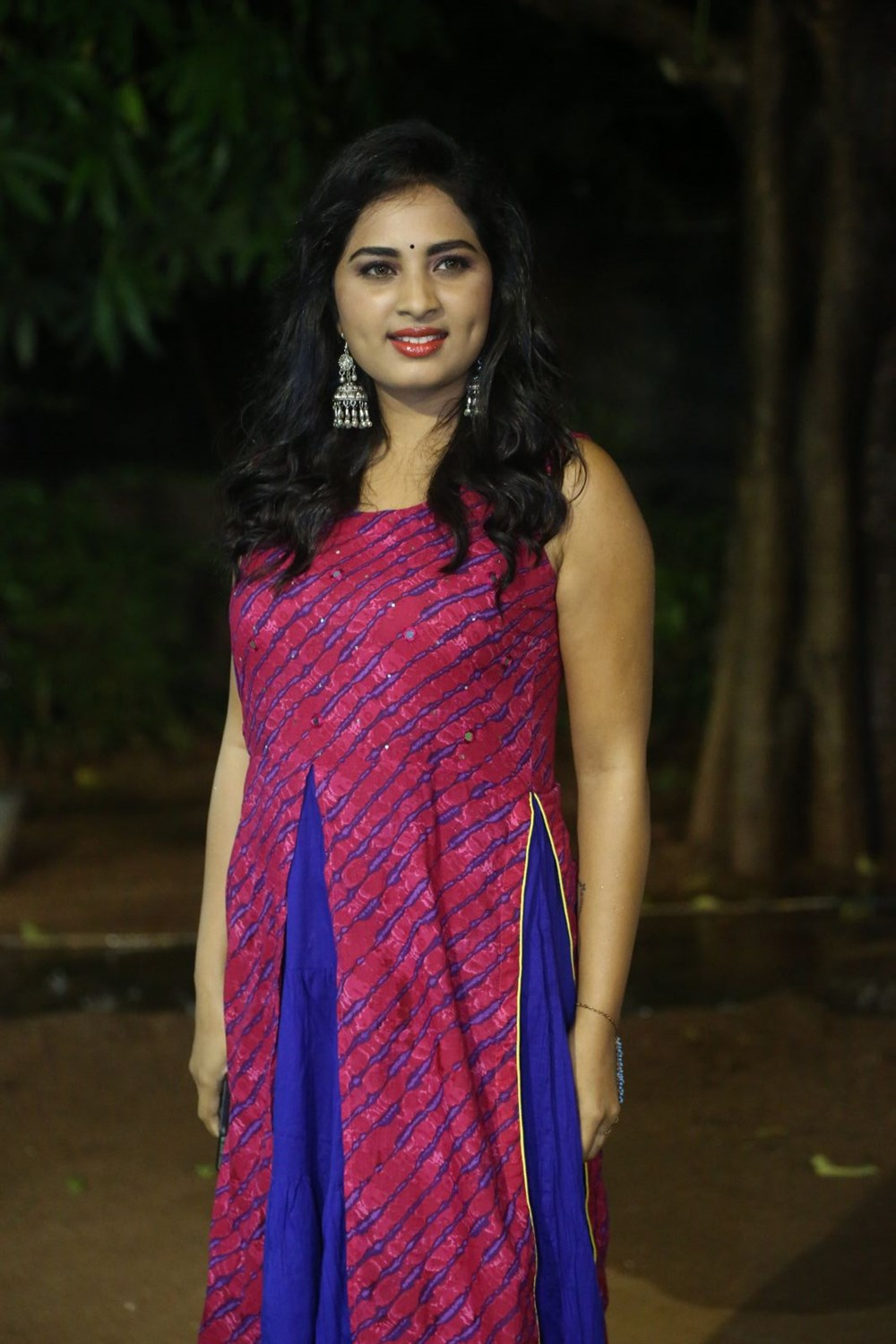 Actress Srushti Dange @ Oy Ninne Movie Audio Launch Stills