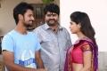 Geethan Britto, Arjunan, Papri Ghosh in Oyee Movie Stills