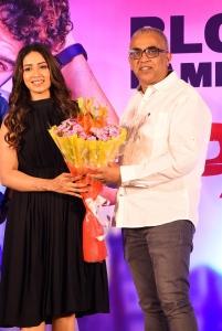 Nivetha Pethuraj, Bekkam Venugopal @ Paagal Movie Success Meet Stills
