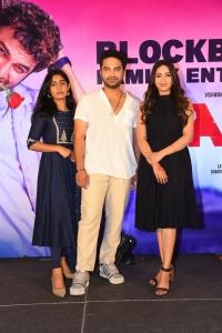 Megha Lekha, Vishwak Sen, Nivetha Pethuraj @ Paagal Movie Success Meet Stills
