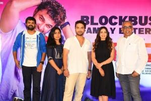 Paagal Movie Success Meet Stills