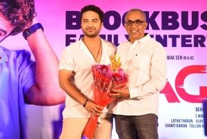 Vishwak Sen, Bekkam Venugopal @ Paagal Movie Success Meet Stills
