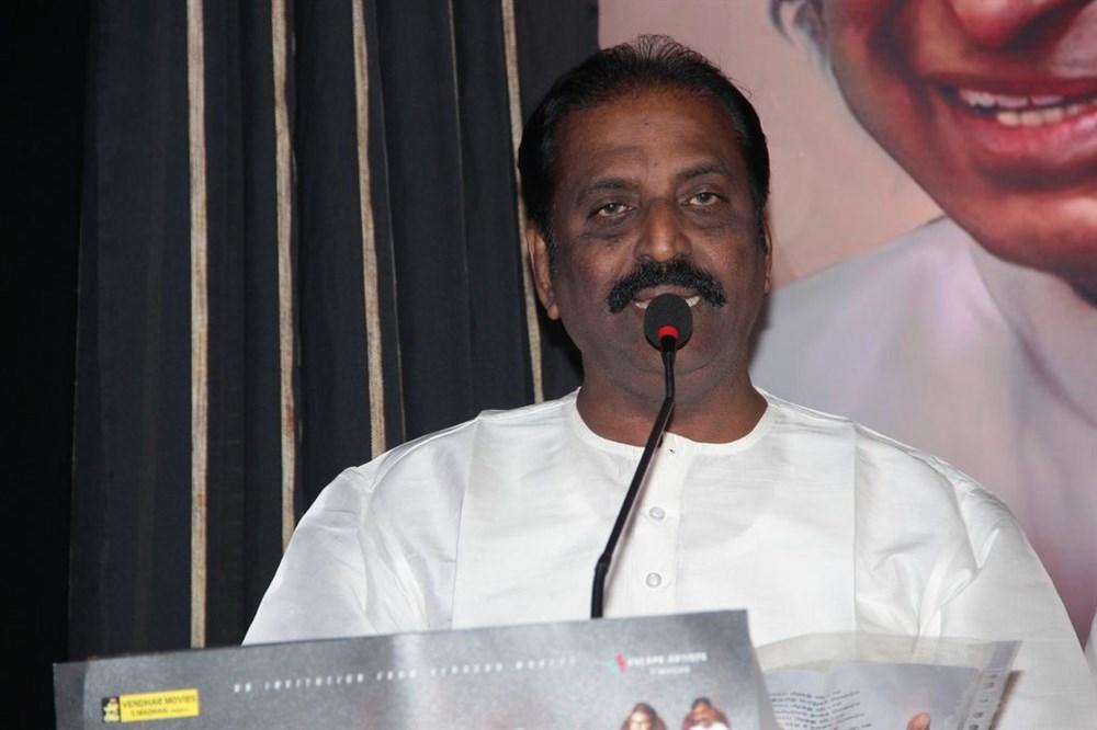 Vairamuthu @ Paayum Puli Movie Audio Launch Stills