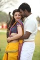 Kajal Agarwal, Vishal in Paayum Puli Tamil Movie Stills