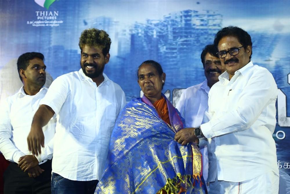 Su Thirunavukkarasar @ Padaipalan Movie Audio Launch Photos