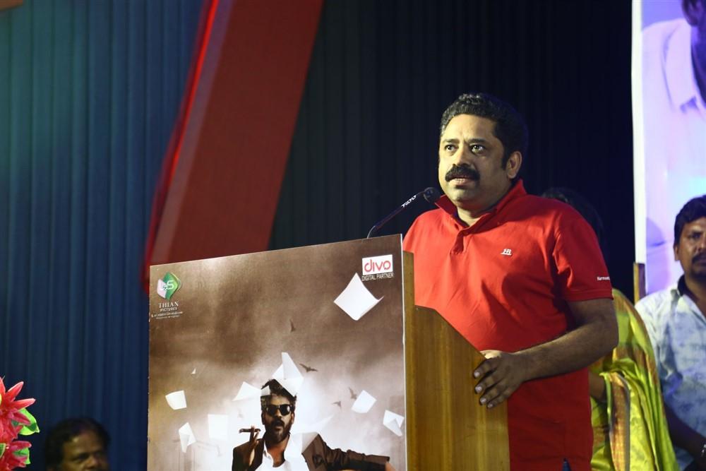 Seenu Ramasamy @ Padaipalan Movie Audio Launch Photos
