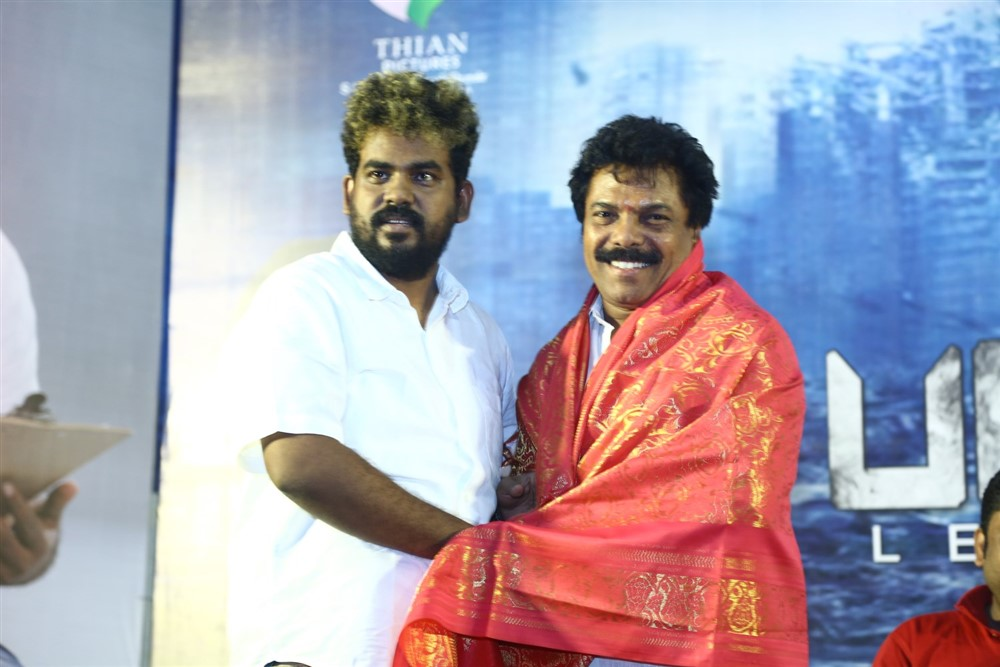 Jaguar Thangam @ Padaipalan Movie Audio Launch Photos