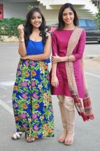 Nithya Shetty, Zahida Sam @ Padesave Movie Team Interview Photos