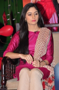 Actress Zahida Sam @ Padesave Movie Team Interview Photos