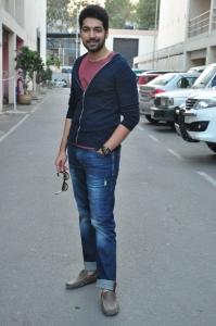 Actor Karthik Raju @ Padesave Movie Team Interview Photos