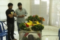 Chimbudevan paid homage to Satyamurthy (Music Director DSP Father)