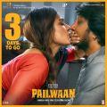 Aakanksha Singh, Sudeep in Pailwaan Movie Release Posters
