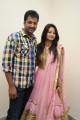 Aryan Rajesh, Mounica Singh @ Pakado Pakado Movie Logo Launch Photos